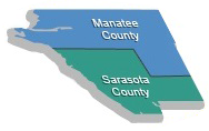 SARASOTA SERVICE Area Map