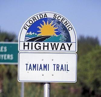 Where does the name Tamiami Trail come from?