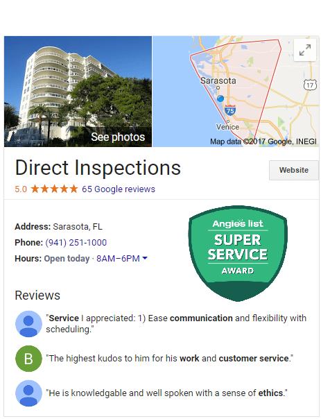 Sarasota home inspection