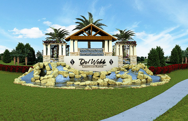 Del Webb Lakewood Ranch new construction homes, image