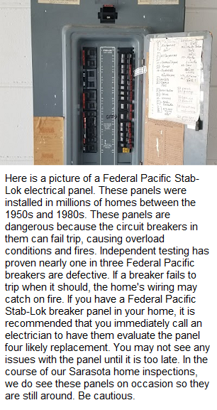 Federal Pacific Stab Lok Electrical Panel